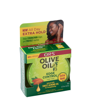 Olive Oil Edge Control-Extra Hold 2.25 Oz.