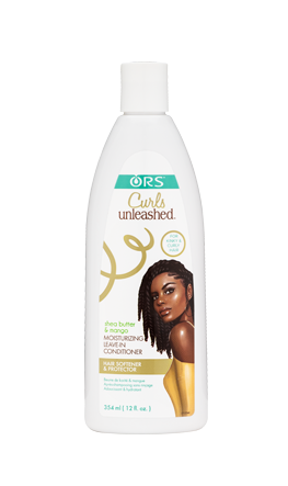 ORS Curls Unleashed Shea Butter and Mango Moisturizing Leave-In Conditioner, 12 fl. Oz.