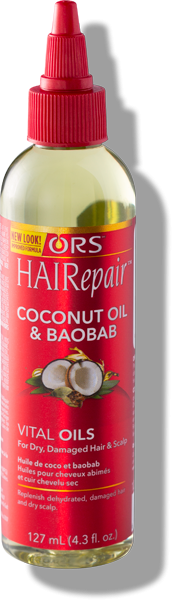 ORS HAIRepair Vital Oil-Coconut Oil and Baobab, 4.3 fl. oz.