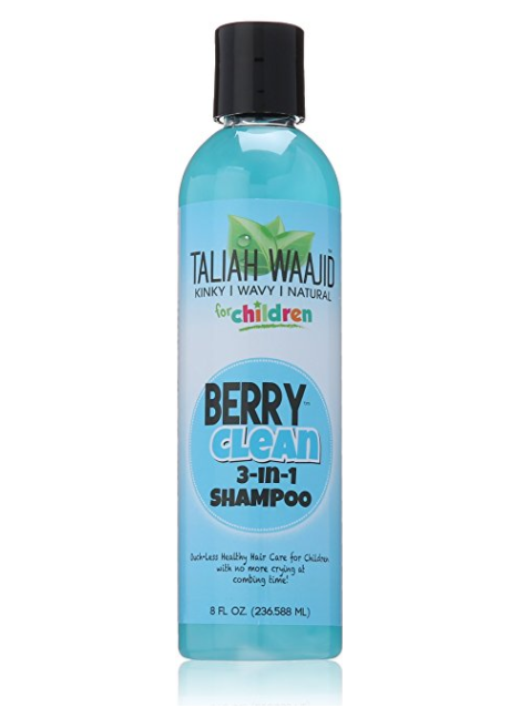 Taliah Waajid Natural Berry Clean Three In One, 8 oz