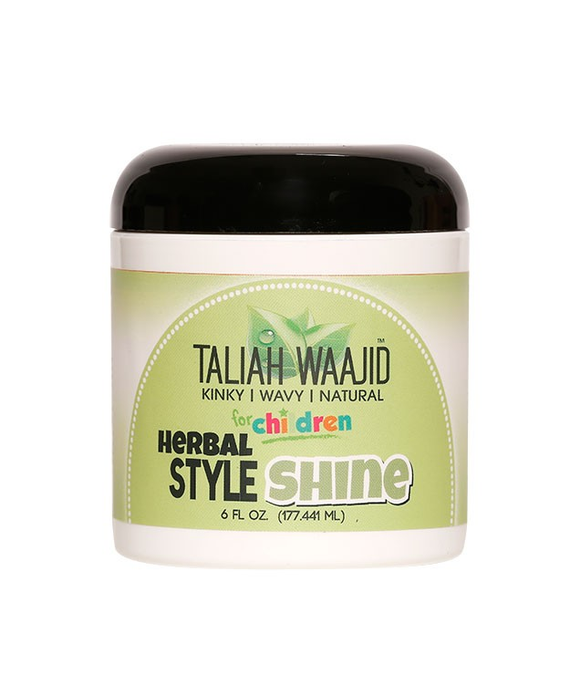 TALIAH WAAJID KINKY WAVY NATURAL FOR CHILDREN HERBAL STYLE & SHINE, 6 oz