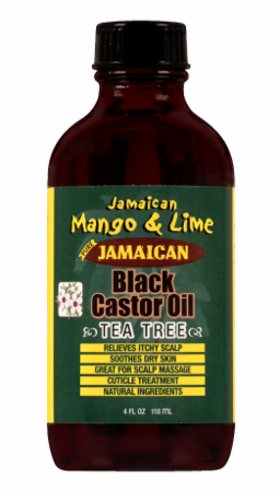 Copy of Jamaican Mango & Lime Black Castor Oil Tea Tree Oil