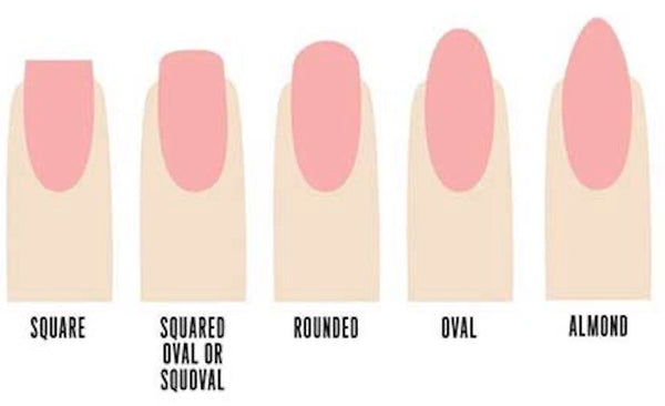 Nail shapes for short nails