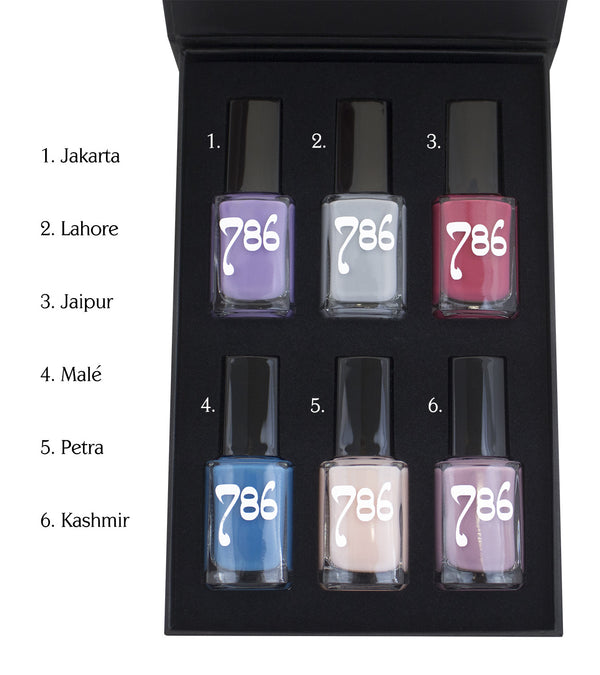 Asia-Inspired Nail Polish Set - 786 Cosmetics