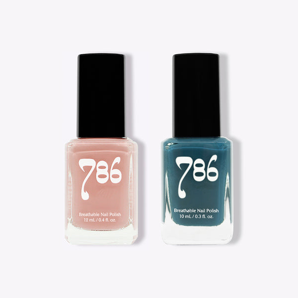 Beirut and Chefchaouen - Halal Nail Polish (2 Piece Set) - 786 Cosmetics