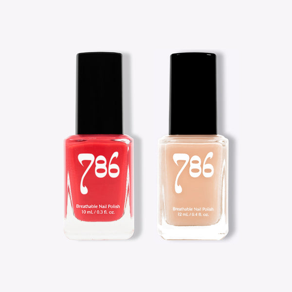 Cordoba and Alexandria - Halal Nail Polish (2 Piece Set) - 786 Cosmetics