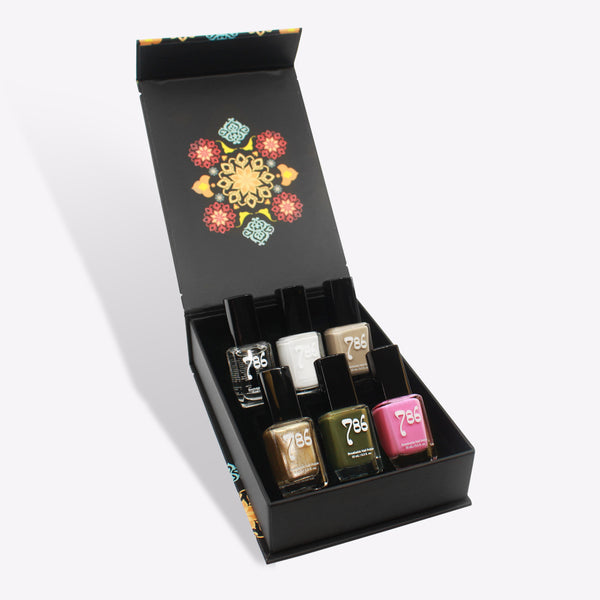 Middle East Nail Polish Set (6 Piece) - 786 Cosmetics
