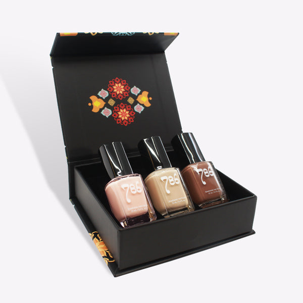 Nude Nail Polish Set (3 Piece) - 786 Cosmetics