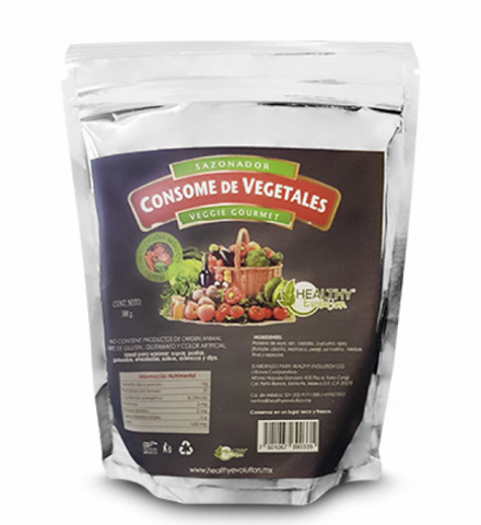 Sazonador de Vegetales Gourmet (300 gr) -  Healthy Evolution