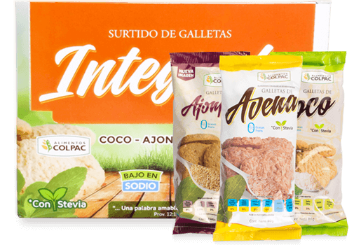 Galletas Integrales surtidas (12 pack) - Colpac
