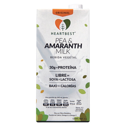 Pea & Amaranth Milk (1 lt) heartbest