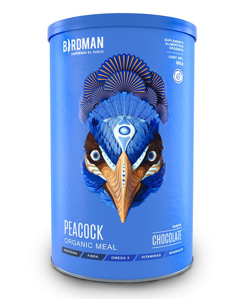Peacock Organic Meal Chocolate (882 gr) - Birdman