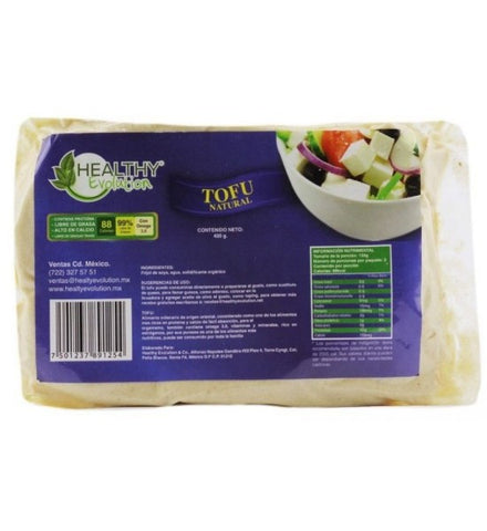 Tofu Natural (400 gr) - Healthy Evolution