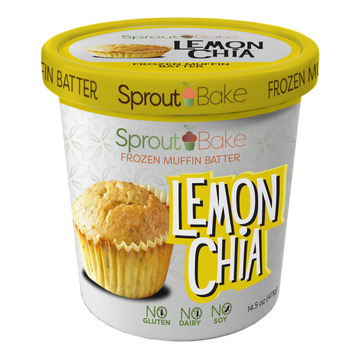 Sprout Bake - Take and Bake Batter - Lemon Chia Seed - 15.5 oz