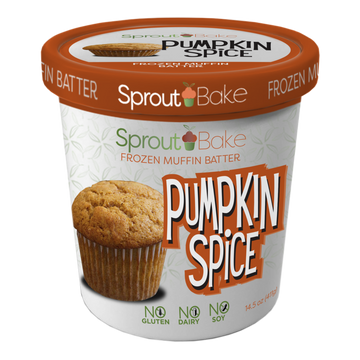Sprout Bake - Take and Bake Batter - Pumpkin Spice - 15.5 oz