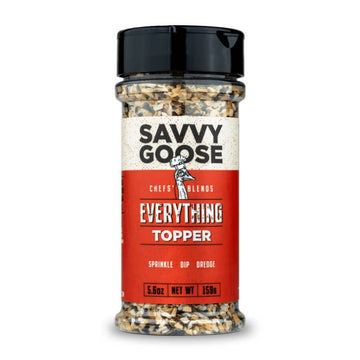 Savvy Goose Foods - EVERYTHING TOPPER SEASONING