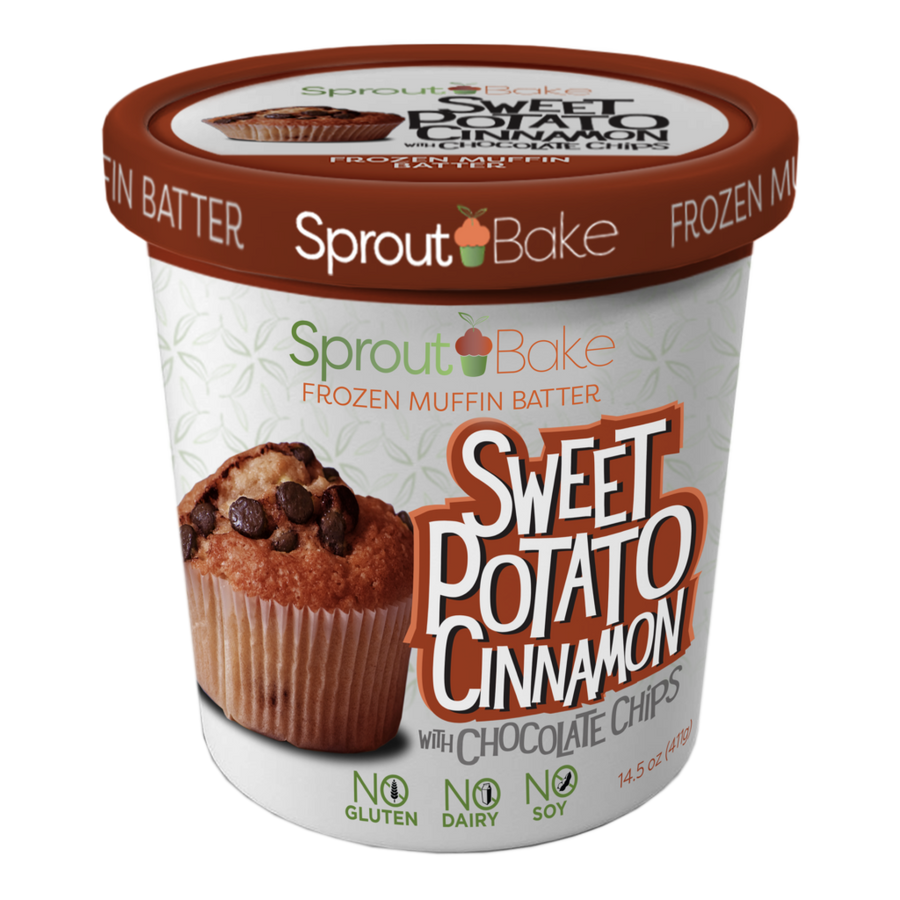 Sprout Bake - Take and Bake Batter - Sweet Potato Cinnamon - 15.5 oz