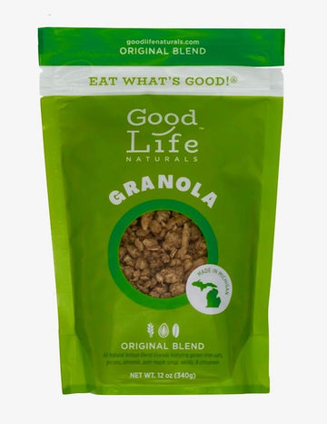 Good Life Naturals - Original Blend Granola 12 oz