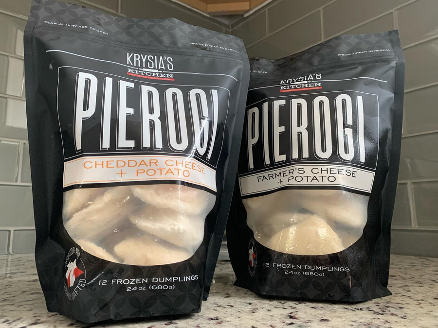 Krysia's Kitchen - Pierogies