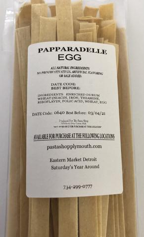 The Pasta Shop - Papparadelle Egg Pasta 12oz