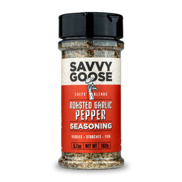Savvy Goose Foods - ROASTED GARLIC PEPPER SEASONING
