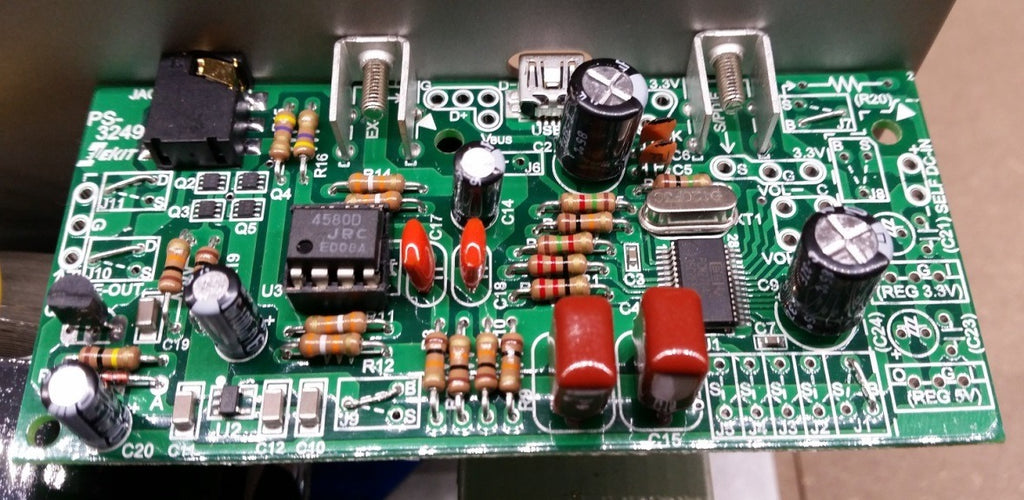 DAC module kit for TU-8200R @ Amp Camp