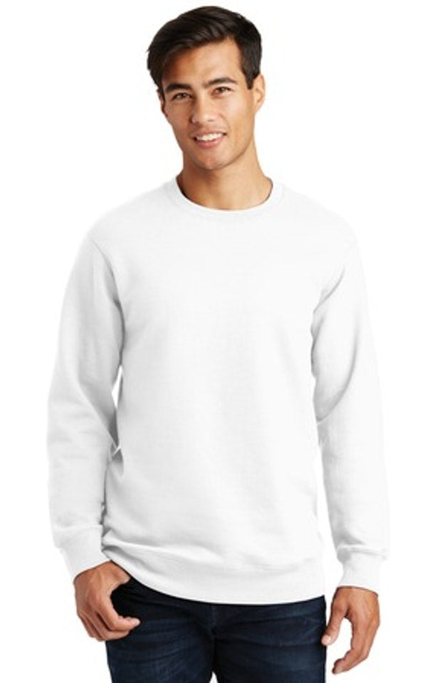 Port & Co Unisex Fan Favorite Fleece Crewneck Sweatshirt
