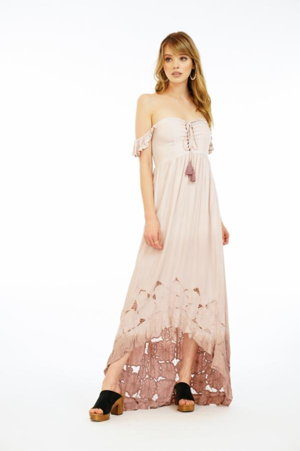 Mia Maxi Dress Crepe