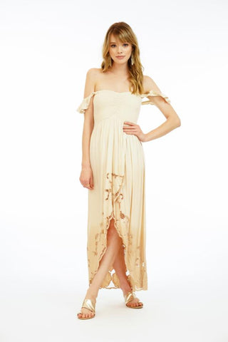 Embroidered Paradise Dress