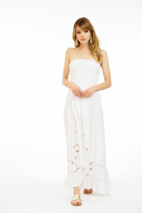 Embroidered Eri Long Dress
