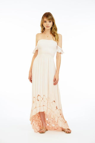 Embroidered Lover Maxi Dress