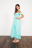 Hollie Maxi Dress Embroidered