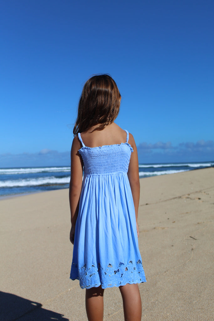 Kid's Embroidered Lanikai Dress