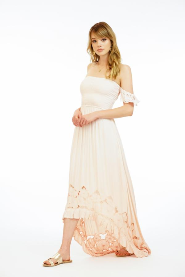 Lover Maxi Dress Embroidered