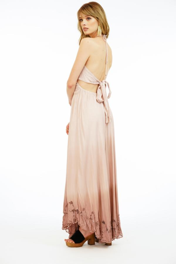 Embroidered Georgia Maxi