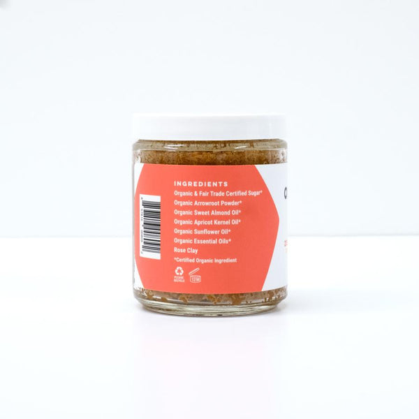 Zesty Morning Organic Body Scrub