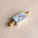 Passive RF Bandpass filter 550MHz centre frequency - 510-570MHz window