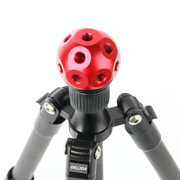 "Red aluminium ball of 3/8"" sockets"