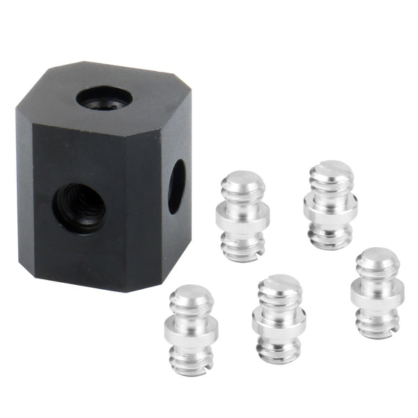 "Cubic 1/4"" and 3/8"" inch adapter"