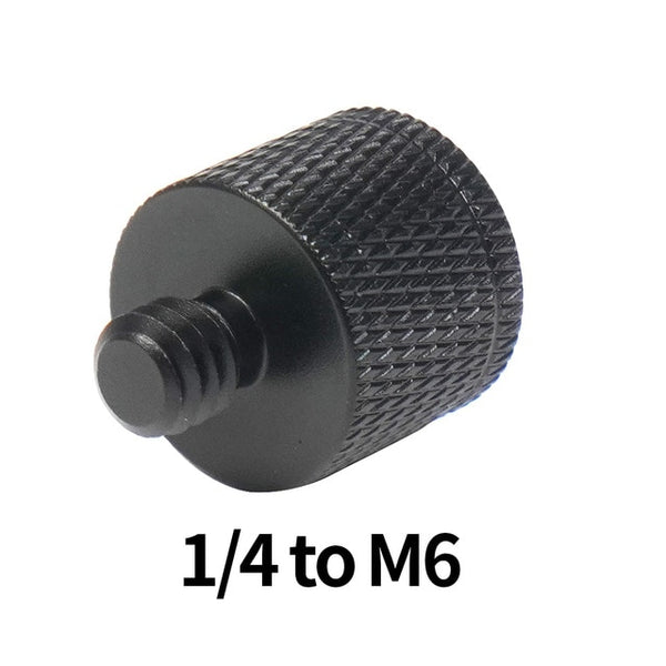 "Various Male to Female Thread Screw Mount Adapters 1/4"", 3/8"", 5/8"", M6, M8"