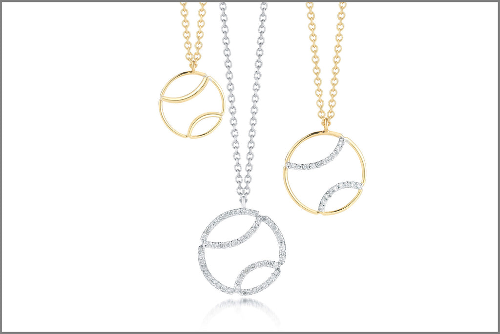 Tennis-ball-pendant-necklaces-diamonds-white-yellow-gold-af-jewelers-st-helena-napa-valley-jewelry