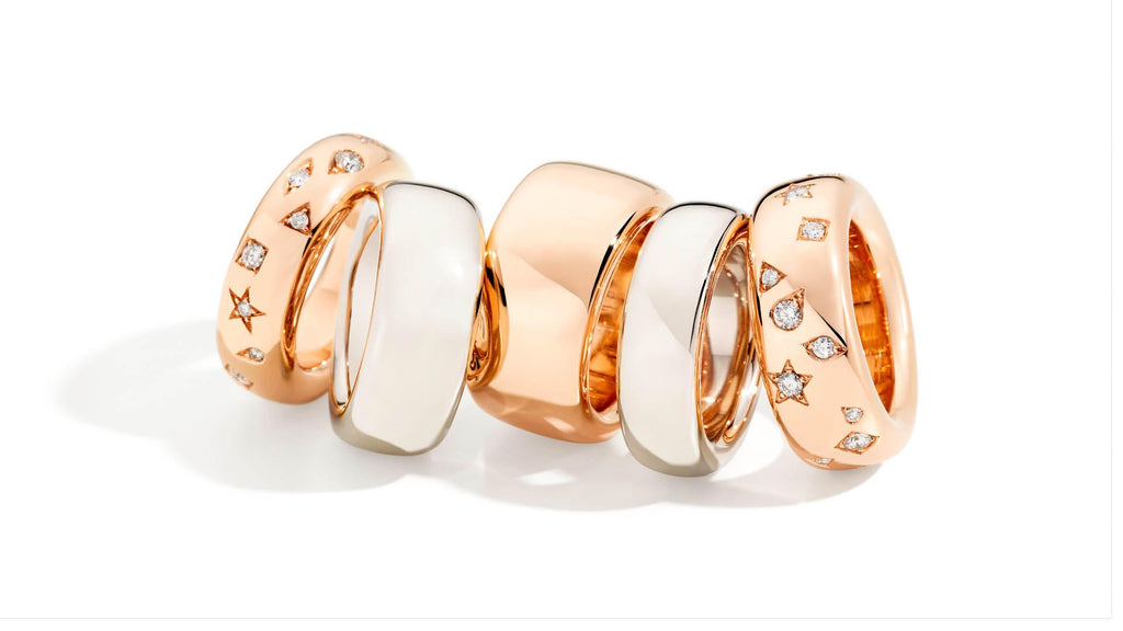POMELLATO-ICONICA-BAND-RINGS-WHITE-ROSE-GOLD-DIAMONDS-AF-JEWELERS