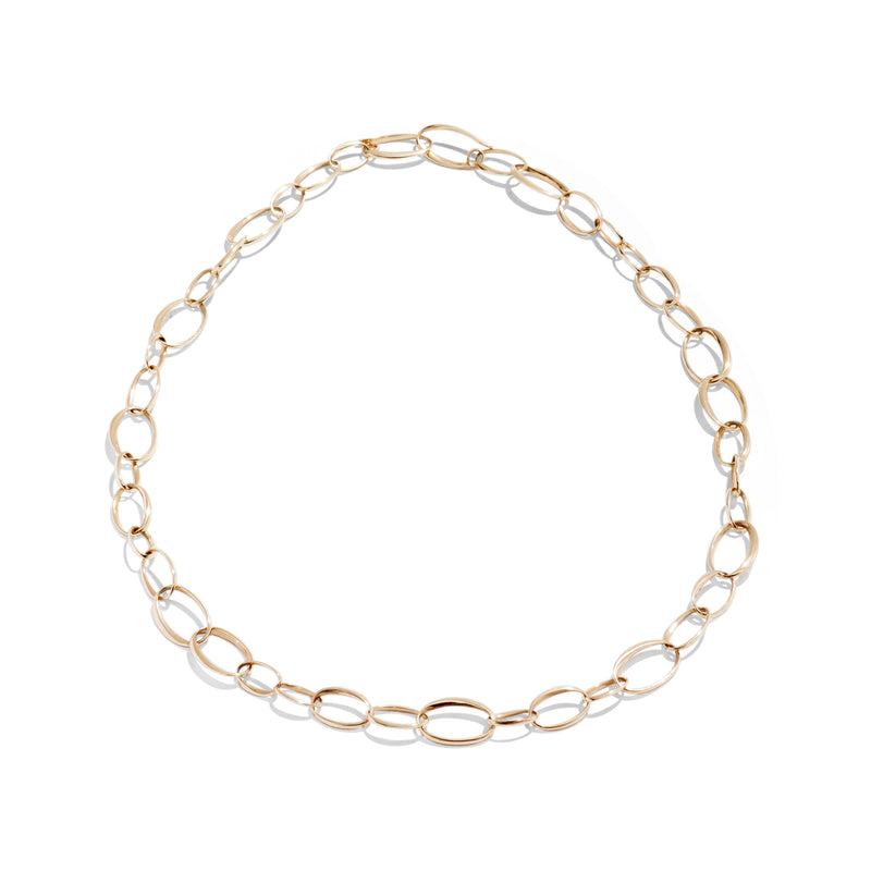 Pomellato - Oval Link Chain Necklace, 18k Rose Gold