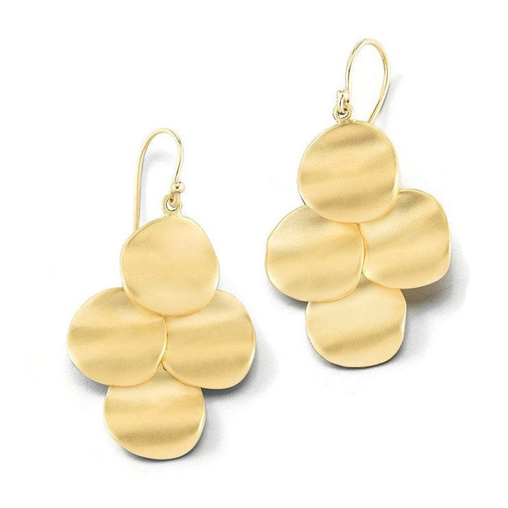"Sandy Leong ""Origin"" Earrings 18k Yellow Gold"