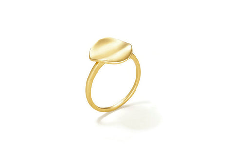 "Sandy Leong ""Origin"" Ring,  18k Yellow Gold"