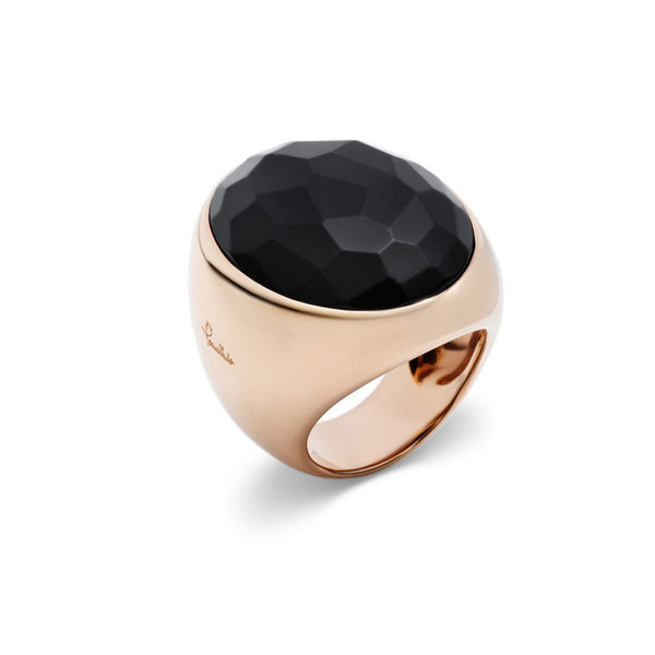 Pomellato-Victoria-Cocktail-Ring-Jet-18k-Rose-Gold-