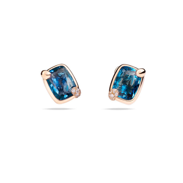 POMELLATO-RITRATTO-EARRINGS-LONDON-BLUE-TOPAZ-DIAMONDS-ROSE-GOLD