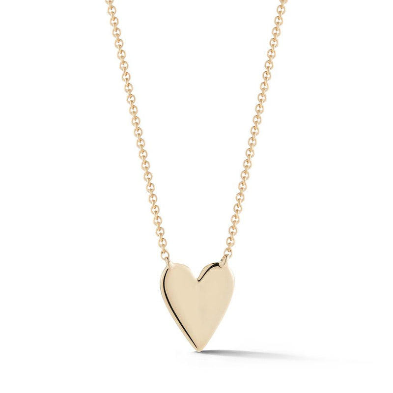 Dana Rebecca Designs - Heart Pendant Necklace, Yellow Gold