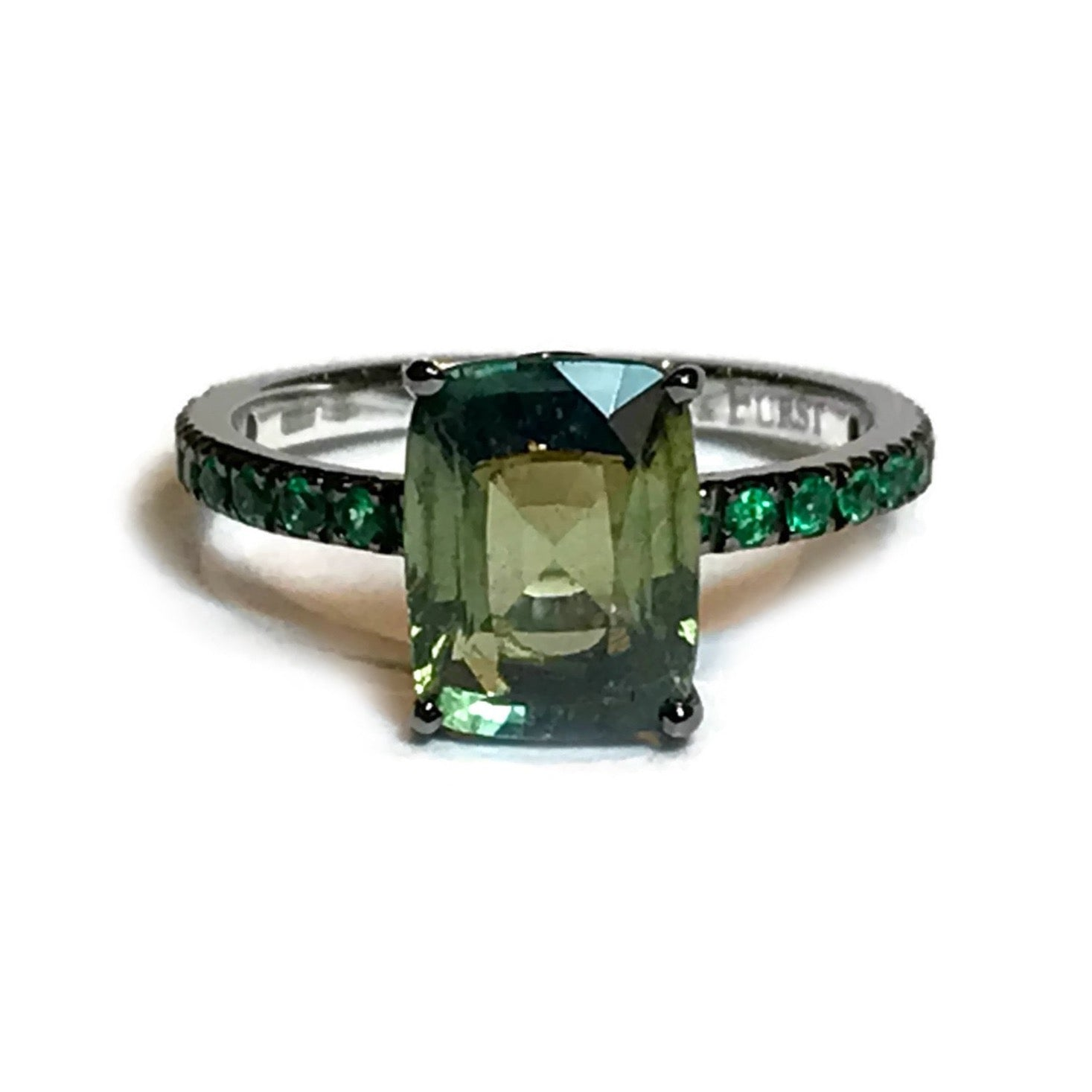 topic my cut this is cushion emerald or