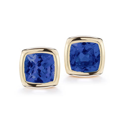 A-FURST-GAIA-STUD-EARRINGS-KYANATE-YELLOW-GOLD-O1717GKY